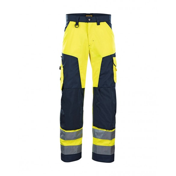 Blåkläder High vis trousers without nail pockets