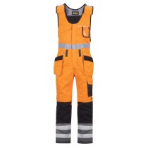 Snickers High-Vis One-piece Holster Pocket Trousers, Class 2 model 0213