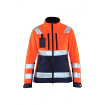 Women Hi-Vis Softshell Jacket