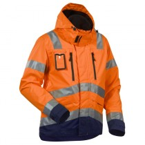 Blåkläder Hi-Vis Waterproof Jacket