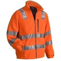 Blåkläder Hi-Vis Fleece Jacket