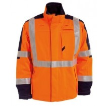 Tranemo Antiflame Hi-Vis Winter Jacket