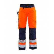 Women High Vis Trousers without nail pockets