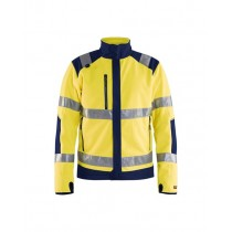Bläklæder Hi-Vis Windproof fleece Jacket