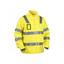 Bläklæder Hi-Vis Fleece Jacket Yellow