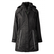 Ladies Jacket with Fleece Black 99044