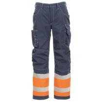 Tranemo FR Trousers Orange/Navy