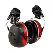 3M™ PELTOR™ X3 Earmuffs Hard Hat Attached